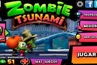 El Jugón De Móvil Analisis Zombie Tsunami Portada