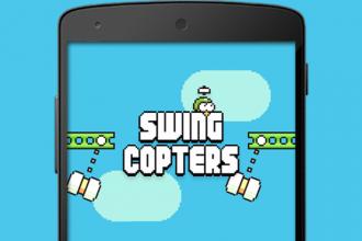 Análisis Juego Swing Copters Menu