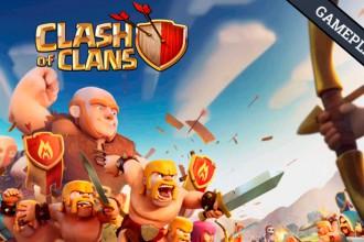 Gameplay mi primera partida a Clash Of Clans Portada El Jugón De Móvil