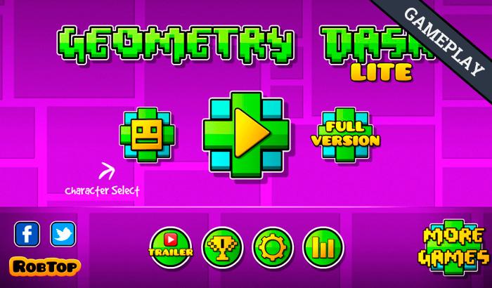 Gameplay mi primera partida a Geomtery Dash Portada El Jugón De Móvil