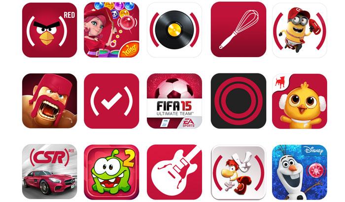 Apps RED aplicaciones El Jugón de Móvil