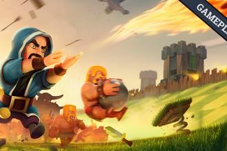 El Jugón De Móvil Gameplay mi primera partida a Clash of clans Guerra entre clanes