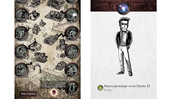 Mapa y prota de La Feria Tenebrosa para El Jugón de Móvil