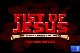 El jugon de movil apaleando zombies con jesus