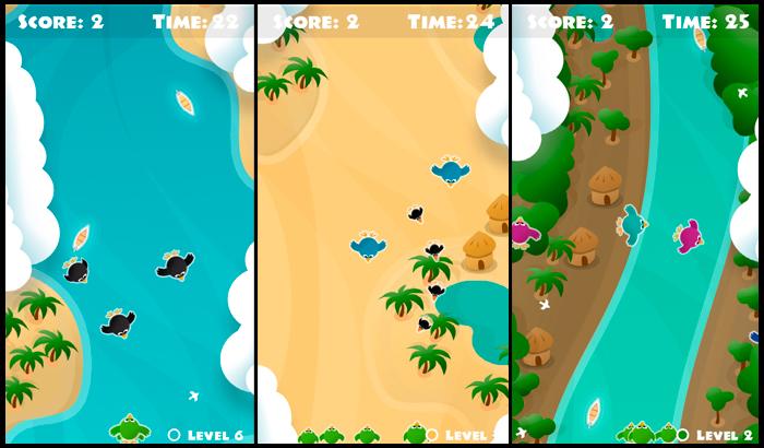 El jugón de móvil Analisis Flock of birds game Partida
