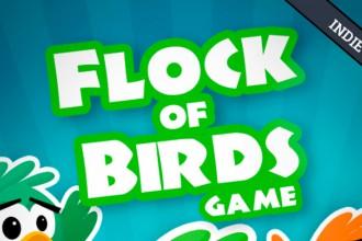 El jugón de móvil Analisis Flock of birds game Portada