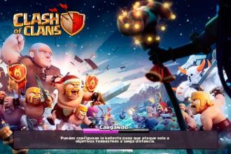 El jugón de móvil Noticia - Clash of Clans actualización de navidad
