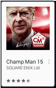 El Jugón De Móvil Los mejores juegos para android Champ Man 15