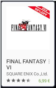 El Jugón De Móvil Los mejores juegos para android Final Fantasy VI