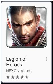 El Jugón De Móvil Los mejores juegos para android Legion of heroes