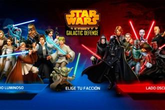 El jugón de móvil Análisis Star Wars: Galactic Defense Partida