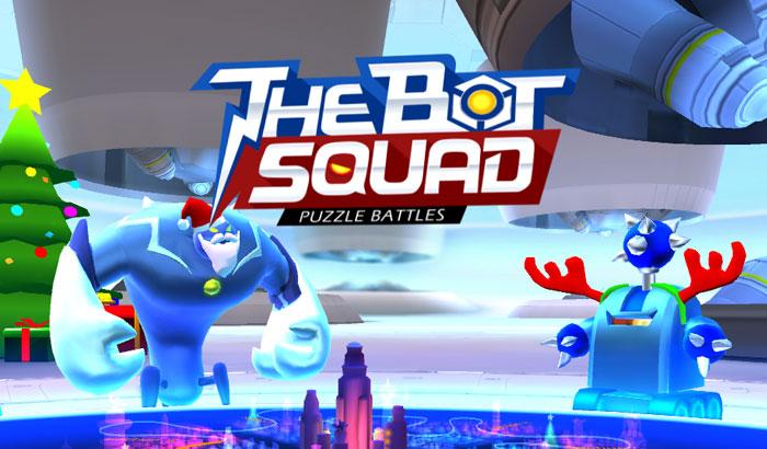 The Bot Squad portada para el Jugón de Móvil