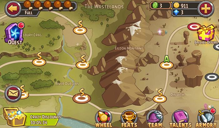 El Jugón de móvil Analisis Pocket Heroes Partida 1