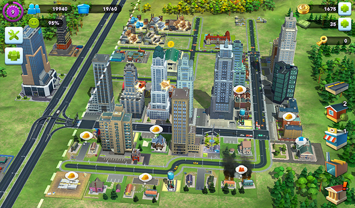 ElJugón de Movil Analisis Simcity Buildit partida 1