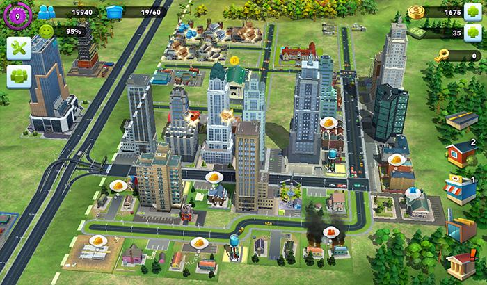 ElJugón de Movil Analisis Simcity Buildit partida 1
