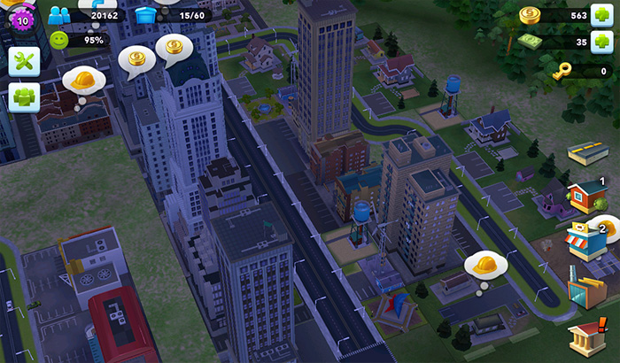 ElJugón de Movil Analisis Simcity Buildit partida 2