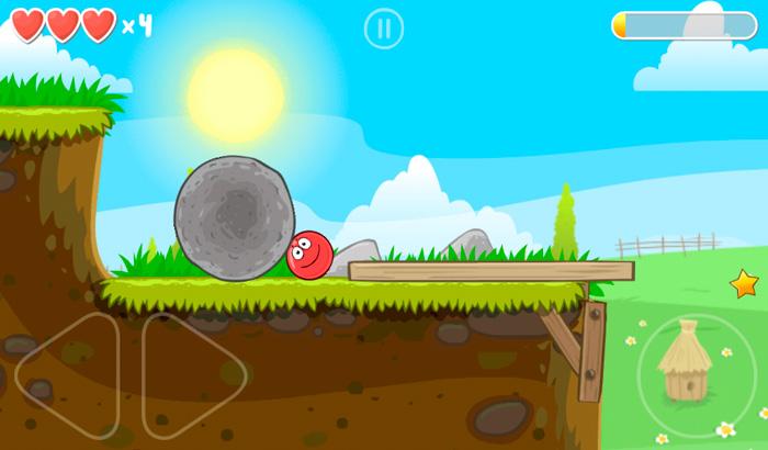 El Jugón de Móvil Análisis Red Ball 4 partida