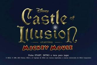 El Jugón de Móvil Análisis Castle of illusion portada