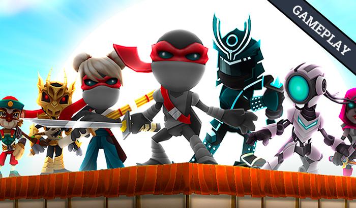 El Jugón De Móvil Gameplay Ninjump Dash
