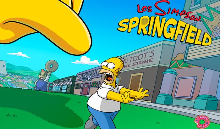 El Jugón de Móvil Análisis Los Simpson Springfield portada