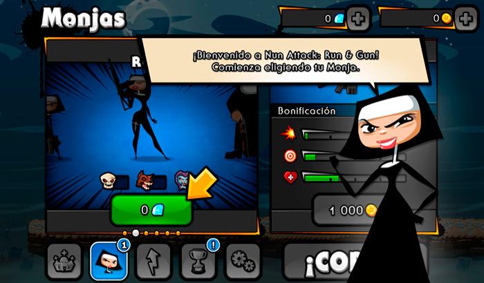 El Jugón de Móvil Análisis  Nun Attack Run & Gun   partida