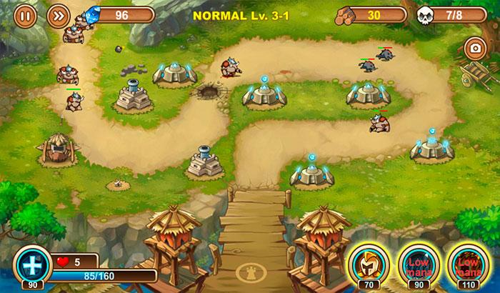 El Jugon De Movil Analisis Castle TD partida 2