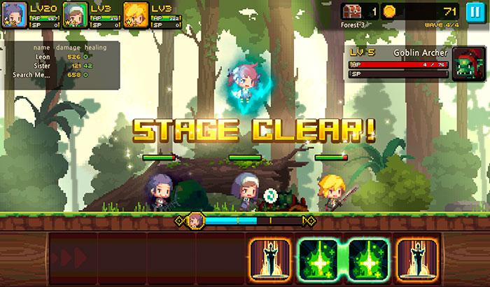 El Jugón de Móvil Análisis Crusaders Quest partida