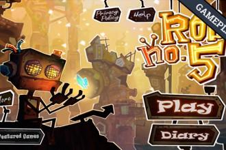 El Jugón De Móvil Gameplay Robo5: 3D Action Puzzle
