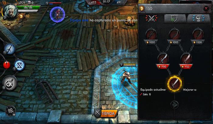El Jugón de Movil Analisis The Witcher partida 4