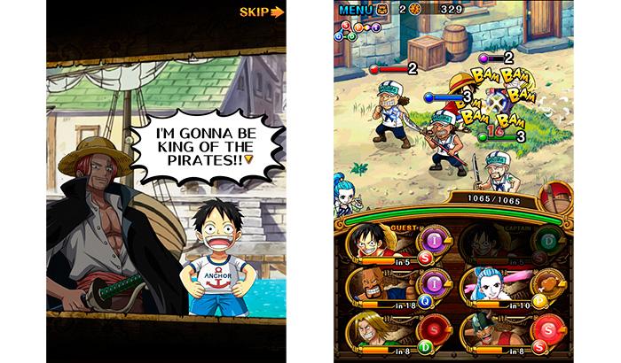 El Jugón de Móvil Análisis One Piece Treasure Cruise Partida