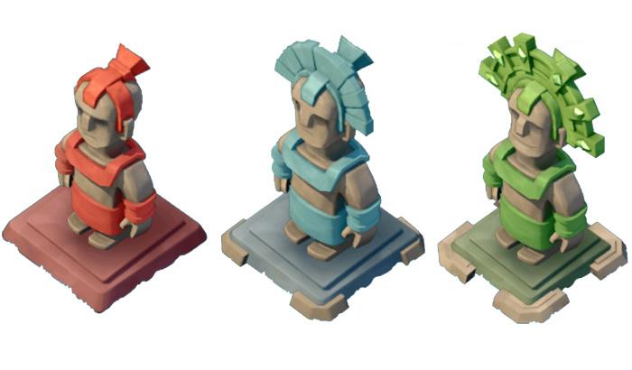 El Jugón de Móvil Guías y Trucos Boom Beach estatuas