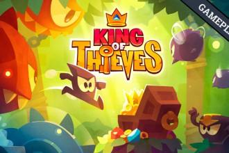 El Jugón de Móvil Gameplay King of Thieves Mi Primera Partida Portada