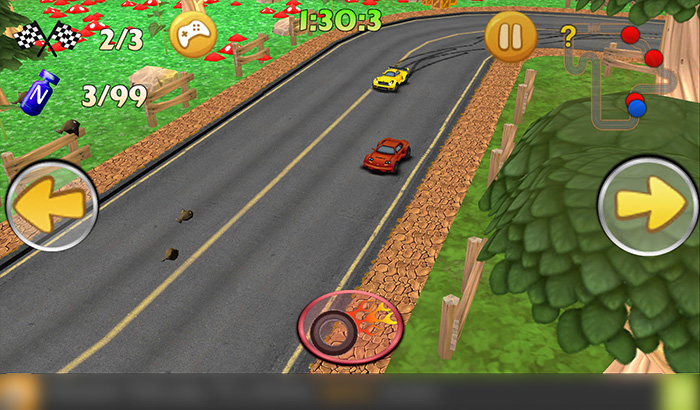 El Jugón de Movil Analisis Cartoon Classic Drive 2015 partida 1