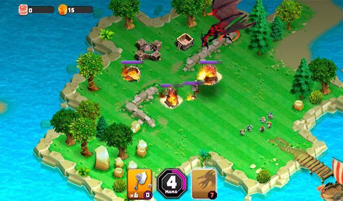 El Jugón de Móvil Análisis Dwarf & Dragons partida