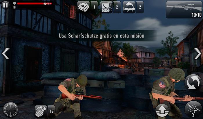 El Jugón de Móvil Análisis Frontline Commando :D-Day Portada