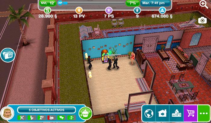 El Jugón de Móvil Guías y Trucos Los Sims Free Play - Mision 5 Un baile para recordar