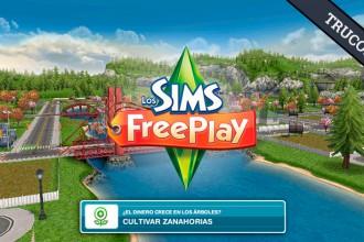 El Jugón de Móvil Guías y Trucos Los Sims Free Play - Mision 2 el dinero crece en los arboles
