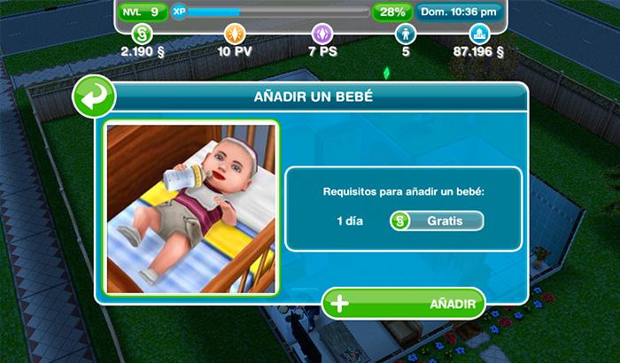 El Jugón de Móvil Guías y Trucos Los Sims Free Play - Mision 4 Dos Sims y Medio