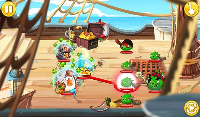 El Jugón de Movil Analisis Angry Birds Epic partida2