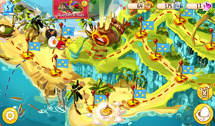 El Jugón de Movil Analisis Angry Birds Epic partida3