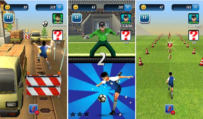 El Jugón de Movil Analisis Soccer Runner partida 1