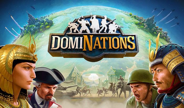 El Jugón de Móvil DomiNations Portada