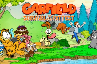 El Jugón de Móvil Garfield Survival of the Fattest Portada