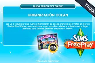 El Jugón de Móvil Guías y Trucos Los Sims Free Play - Misión 6 Urbanización Ocean