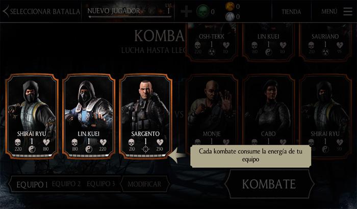 El Jugón de Móvil Análisis MORTAL KOMBAT X  partida 1