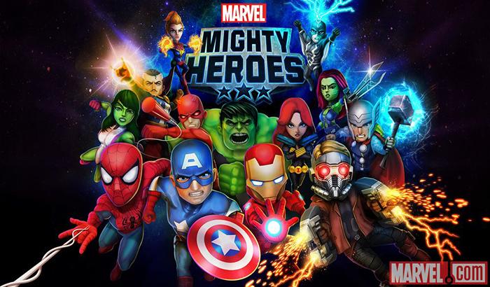 El Jugón de Móvil Análisis Marvel Mighty Heroes portada