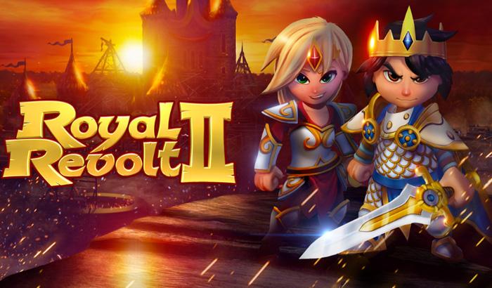 El Jugón de Móvil Royal Revolt 2 Portada