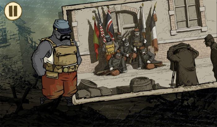 El Jugón de Móvil Valiant Hearts The Great War Análisis Partida