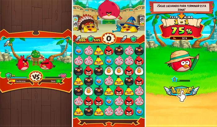 El Jugón De Móvil Análisis Angry Birds Fight Partida