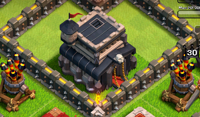 clash of clans lvl 5 dragon sneak peek